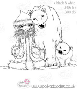 Polar Family - Octavia Frosted Winter - Digital CRAFT Download