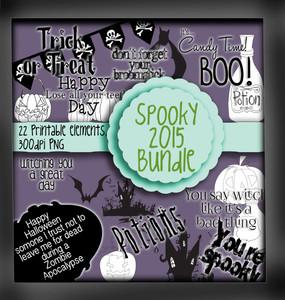 Spooky Sentiments - digital download bundle