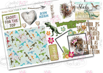 Sticks & Bones - Design Sheet 4  - Digital CRAFT Download