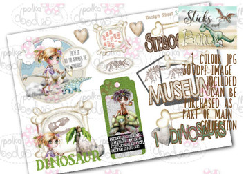 Sticks & Bones - Design Sheet 10  - Digital CRAFT Download