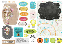 Science/Maths/Teacher/Professor/Geek/Student/Chemisty bundle kit - Printable Crafting Digital Stamp Craft Scrapbooking Download