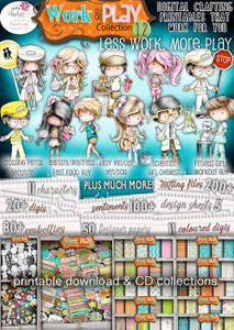 Work & Play 12 Download Collection Big Kahuna bundle