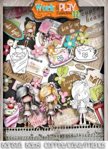 Work & Play 12 Download Collection Big Kahuna bundle - Food section