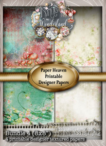 Winnie Wonderland Paper Heaven 4 - Printable Digital download