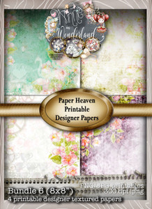 Winnie Wonderland Paper Heaven 6 - Printable Digital download