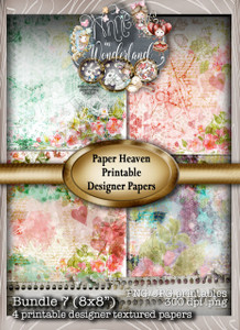 Winnie Wonderland Paper Heaven 7 - Printable Digital download