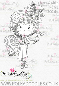Winnie Wonderland time is running out - Printable Digital stamp download