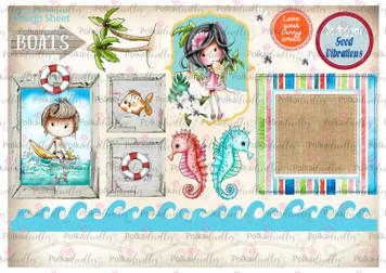 Winnie Starfish/Sandcastles Design Sheet 8 DOWNLOAD