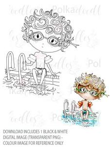 Winnie Starfish/Sandcastles - Rocco swimming poolDOWNLOAD