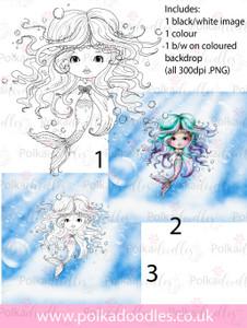 Meribelle 3-for-2 digital craft stamp download