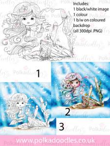 Meribelle Housework -3-for-2digital craft stamp download