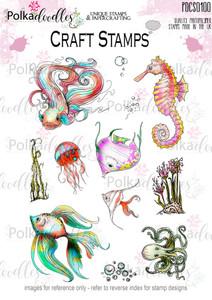 Tropical Underworld Clear Stamp set