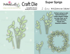 Super Sprigs - Craft Cutting die