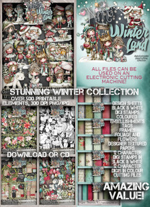 Winnie Winterland - Big Kahuna digital craft download Bundle
