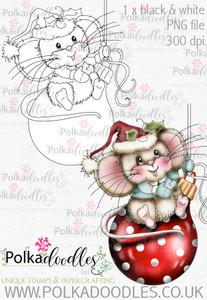 Noel Christmas Mouse