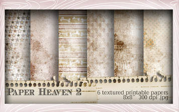 Paper Heaven 2 - Horace & Boo download printable bundle