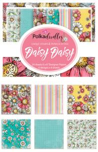 """Daisy Daisy 6 x6"""" paper pack"""