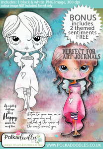 Ula be yourself - Life Journal craft digi download