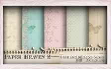 5 Printable Papers - Lil Miss Sugarpops Kit 1...Craft printable download digital stamps/digi scrap kit