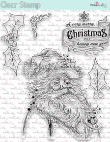 Christmas Santa Claus -  Clear Stamp Set