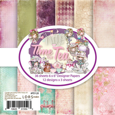 """Winnie Time for Tea - 6 x 6"""" paper pack by LDRS"""