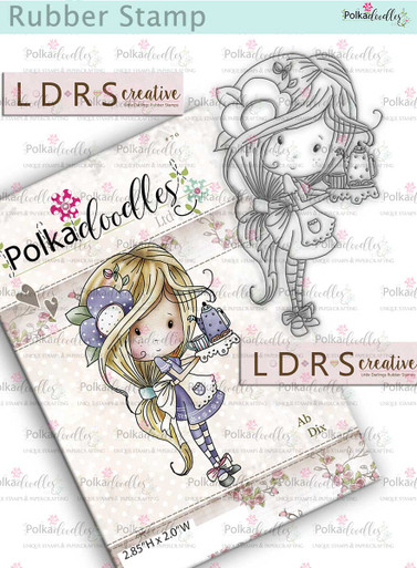 Winnie Time for Tea Rubber Stamp -   Tea-riffic by LDRS