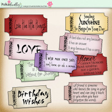 Eastern Dreams download - digiscrap kit/craft printable quotes