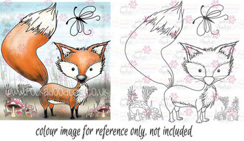Mr Foxy digital stamp download