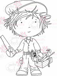 Handyman Dave digital stamp download