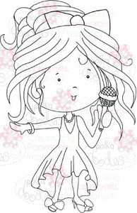 Singing Sally digital stamp download
