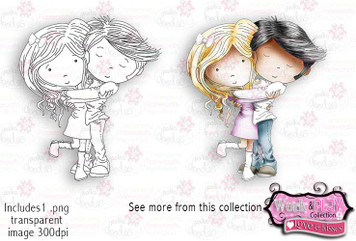 True Love Digital Craft Stamp download