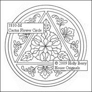 Cactus Flower Circle