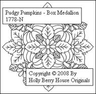 Pudgy Pumpkins Medallion