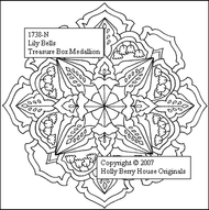 Lily Bells Medallion