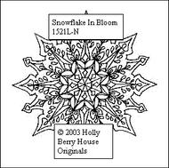 Snowflake in Bloom