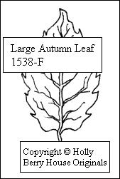 Large Autumn Leaf