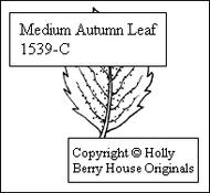 Medium Autumn Leaf