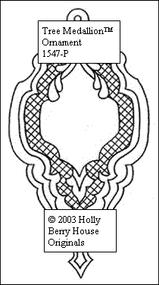 Tree Medallion Ornament