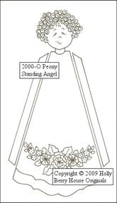 Peony Standing Angel