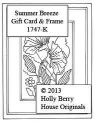 Summer Breeze Gift Card & Frame