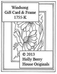 Windsong Gift Card & Frame