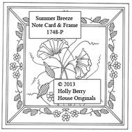 Summer Breeze Note Card & Frame