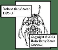 Indonesian Scarab