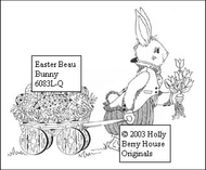 Easter Beau Bunny