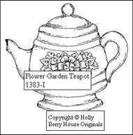 Flower Garden Teapot