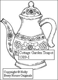 Cottage Garden Teapot