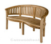 Cotswold teak Crummock Bench.