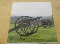 Cannons at Gettysburg 12x12 Scrapbook Paper