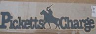 Civil War Picketts Charge Title Scrapbooking Diecut