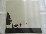 Artillery Silhouette Scrapbook Paper